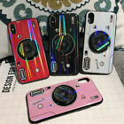 Blue-Ray Camera Design Kickstand Shockproof Case Cover For iPhone X 8 7 6s Plus