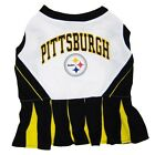 Pittsburgh Steelers NFL Pets First Cheerleader Dog Dress Sizes XS-M $24.95 USD on eBay