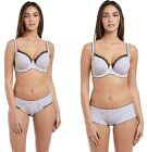 Discounted Freya Urban Echo Plunge Balcony Cup Bras & Thong, Short & Brief Sets