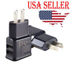 5V 2.1A Dual Port USB Wall Adapter Charger US Plug for Samsu