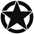 USA Army Military Star Vinyl Decal Sticker for Jeep Ford Dodge Nissan GMC Truck