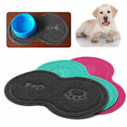 Cat Bowl Mat Dog Placemat Pet Feeding Water Food Dish Tray Wipe Clean Floor PVC