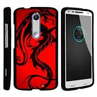 For Motorola Droid Turbo 2 / Kinzie / X Force Hard Fitted 2 Piece Snap On Case