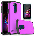 For LG X Charge/Fiesta LTE/LV7 Shockproof Armor Case Cover With Screen Protector