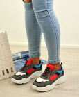 LADIES WOMENS RUNNING GYM TRAINERS LACE UP SNEAKERS PLIMSOLLS SHOES SIZES UK