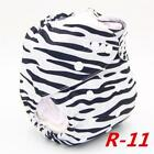 Pocket Diapers Washable Baby Cloth Diaper Cover Waterproof Cartoons Print Baby