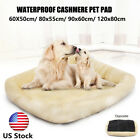 Pet Bed Cushion Dog Cat Warm Mat Soft Pad Nest For Crate House Indoor Outdoor US