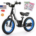 12''/14'' Kid Sport Balance Bike No Pedal Control Walking Bicycle Training Learn