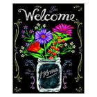 Full Drill 5D Diamond Painting Blackboard Craft Home Decor DIY With Drawing Tool