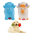 Pet Dogs & Cats Squeaky Sound Chew Toys - Teeth Cleaning and Healthy (Cow)