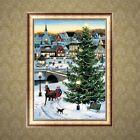 Full Diamond 5D Christmas Tree Painting Embroidery Cross Stitch Craft Home Decor