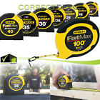 Stanley FatMax from 6' to 100 Feets Professional Tape Measures Industrial Rulers