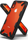 For iPhone XR | Ringke [FUSION-X] Shockproof Clear Back Armor Bumper Case Cover