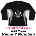 Darth Vader Star Wars Graphic On Hockey Practice Jersey Name & Number too! $29.99 USD on eBay