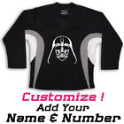 Darth Vader Star Wars Graphic On Hockey Practice Jersey Name  Number too