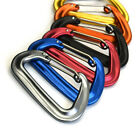 7075 Aluminum 12KN Lightweight Wire Gate Carabiners Clips for Hammocks Camping