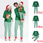 Family Matching Christmas Pajamas Set Kids Adult Sleepwear Nightwear Pyjamas USA