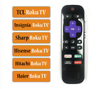 Replacement Remote fit for TCL/ Insignia/ Sharp/ Hisense/ Haier/ Hitachi Roku TV
