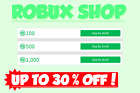 CHEAP! ROBLOX ROBUX (100/500/1,000) *NO FEES*