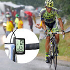 Wireless / Wired USB Rechargeable Bike Cycling Bicycle Computer Speedometer NEW