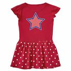 Inktastic Patriotic Star And Stripes Toddler Dress Red White Blue America 4th Of