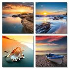 Canvas Wall Art Print Painting Pictures Home Office Room Decor Sea Beach Waves