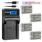 Kastar Battery LCD Charger for Canon Original NB-10L NB-10LH & Canon OEM CB-2LC