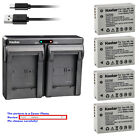 Kastar Battery Dual USB Charger for Canon NB-10L CB-2LC & Canon PowerShot G3 X