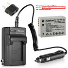 Kastar Battery Travel Charger for Canon NB-10L CB-2LC & Canon PowerShot G15