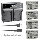 Kastar Battery Rapid Charger for Canon NB-10L CB-2LC & Canon PowerShot SX40 HS