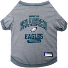 Philadelphia Eagles Pets First Officially Licensed NFL Dog Pet Tee Shirt, Gray $18.95 USD on eBay