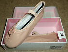 NEW $30 Girls American Ballet Theatre Spotlight Rosado Pink Slippers Shoes SZ 10