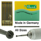 Busch Jewelry Bur Figure 1 Jewelers Round Bur Pack of 6 Burs 005-050 Germany