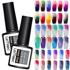 LEMOOC 8ml Nagel Gellack Thermolack Color Changing Gel Nail Art Gel UV Polish