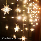 Decoration christmas outdoor new year curtain icicle string led light 220/110V