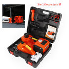 3T/5T 3IN-1 Auto Electric Hydraulic Floor Jack Lift Pump with Impact Wrench Set