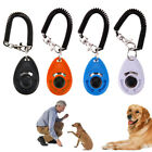Puppy Whistle Button Training Aid Wrist Strap  Obedience Dog Pet Clicker Trainer