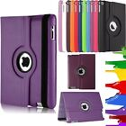 "360 Degree Rotation Smart Leather Stand Case Cover For iPad 2018  9.7"" 6th Gen"