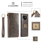 Xmas Vintage Wallet Card Case Leather Flip Pouch Phone Cover For Samsung Note 9