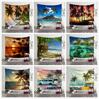 Beach Ocean Style Wall Hanging Tapestry Bedspread Wall Throw Home Decor Blanket