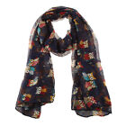 #7 Colors Fashion Ladies Women's Voile Scarf Soft Oversized Long Scarves
