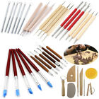 LOT Clay Sculpting Set Wax Carving Pottery Tools Shapers Polymer Modeling image