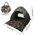2-3 Person Outdoor Camping Waterproof Automatic Instant Pop Up Tent Camouflage@S
