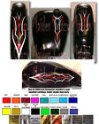 Motorcycle graphics set decal pinstripe Victory Harley Honda Sportbike sticker $39.99 USD on eBay