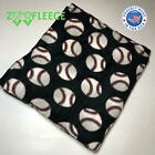"ZooFleece Baseball MLB 60X68"" Linen Blanket Ball Throw Quilt American Sports   image"