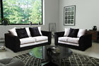 Dillon Crushed Velvet Sofas Set Corner Sofa Suite Couch Pouffe Swivel Chair NEW