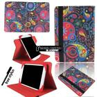 For Apple iPad Mini 12345/ipad 1234 /iPad air Leather Rotating Stand Cover Case