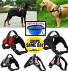 No Pull Adjustable Dog Pet Vest Harness Quality Nylon Small Medium Large XL XXL