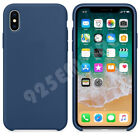 For Apple iPhone 7/8 Plus/XR/XS MAX Plus Original Thin Leather Silicone Case