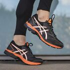 Asics Gel Pulse 8 G-TX Black/Silver/Hot Orange Trainers